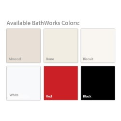 Bathworks Paint Color Samples