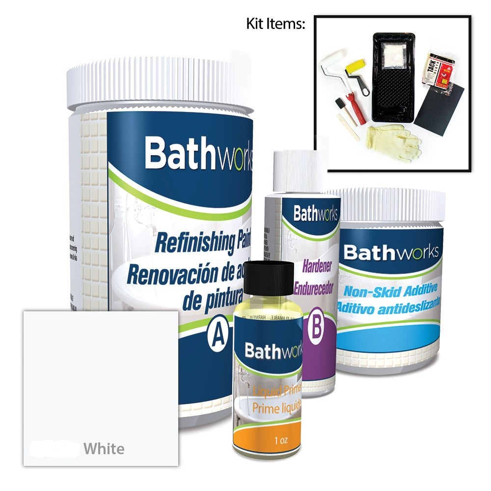 Bathtub Refinishing Combo Kits