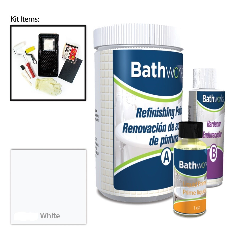 Quick Dry Premium Refinishing Kit with Chip Repair
