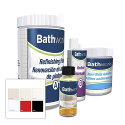 Bathworks Paint Color Samples